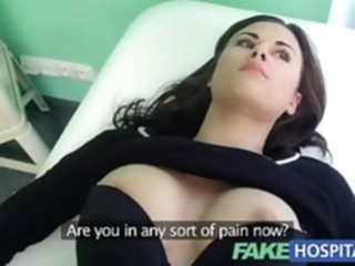 Fake Hospital Treatment make patient moan with pleasure point of view hardcore hd