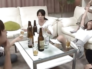 Party of companion(censored) japanese straight