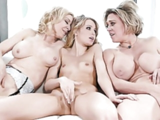 Strange Tradition In Family blonde lesbian mature