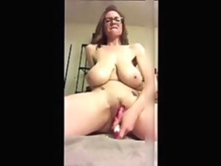 Huge Saggy Tit Mom With Glasses Toys Her Cunt amateur sex toy hd videos