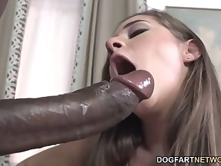 Cassidy Klein Pleases A Big Black Cock With Her Feet big cock foot fetish interracial