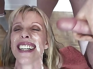 My Blow-Bang Bukkake Blast amateur blowjob facial