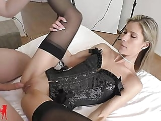Melanie Schweiger: Cuckold! He jerks in the same room.. amateur blonde creampie
