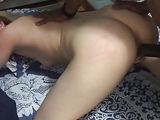 Pale skin wife fucked by BBC blonde hardcore top rated