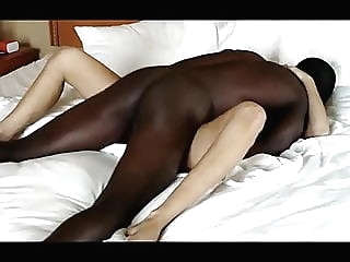 Hot Blonde Gets Blacked amateur blonde interracial