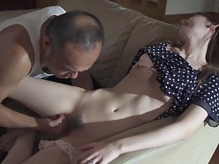 Horny Father in law Molest and Fuck Stepdaughter asian babe blowjob