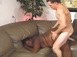 Sales Lady Gets Fucked interracial ebony bbw