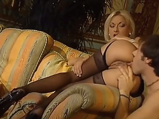 Rich blonde blow the guy after cumming anal blond cumshot