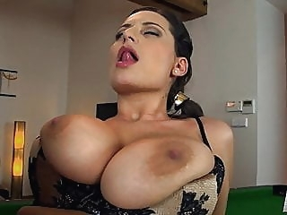 I want to play with your big jugs anal brunette lingerie