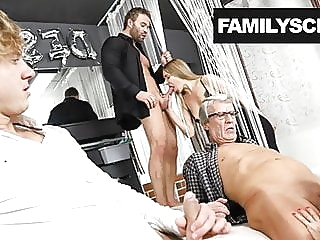 Swinger Family Cums by the Club amateur cumshot hardcore