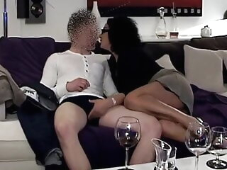 The apprentice, come on and fuck, the Arab MILF isn't finished. mature milf old & young