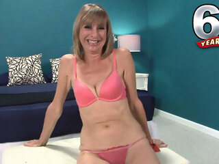 Bonus Interview: 64-Year-Old Newcomer Patsy - Patsy - 60PlusMilfs casting high heels mature