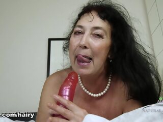 Esmeralda in Mature And Hairy Movie - ATKHairy big ass big tits brunette