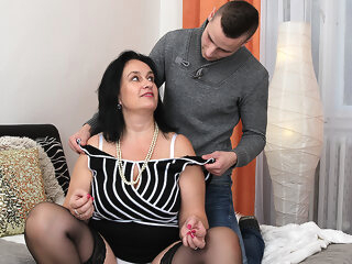 Big Breasted Chubby Housewife Doing Her Toy Boy - MatureNL big ass big tits dutch