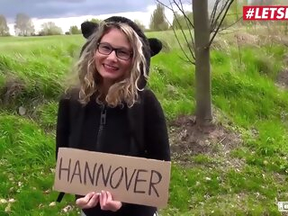 LETSDOEIT - Busty Hitchhiker Milf Izzy Mendosa Pays With Pussy For Her Travel To Hannover big tits car cougar