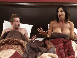 Tara Holiday & Danny D in Overnight With Stepmom: Part One - Brazzers big ass big tits creampie
