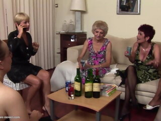 mature orgy with zsanna granny