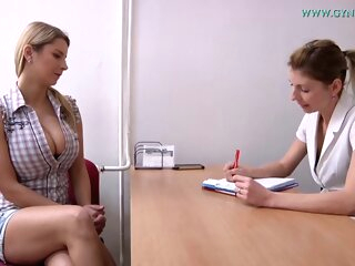 Mind blowing blonde Czech babe enjoys this big tits blonde czech
