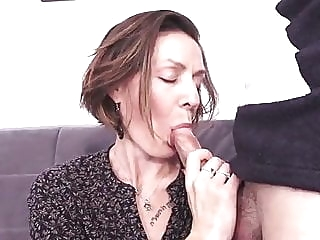 French milf hard fuck - anal, too anal mature top rated