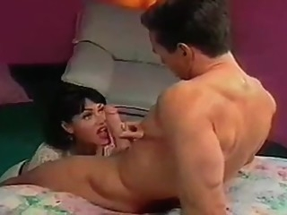 Jeanna Fine Gets A Face Full Of Peter North facial brunette