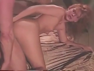 Kirsty Waay & Peter North swallow сum red head big ass
