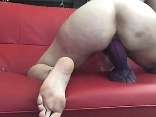 Bad Dragon Huge Dildo Squirt masturbation amateur hardcore