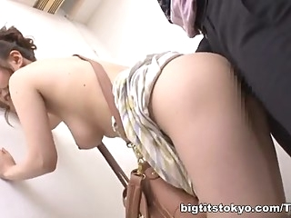 Chihaya Yutsuka hot Asian milf gets big tits fucked asian big tits blowjob