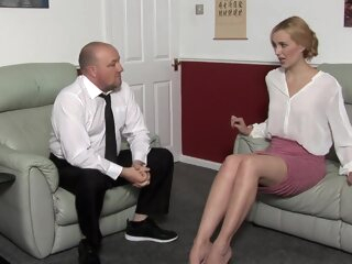 Amelia Jane Rutherford Punished blonde fetish hd