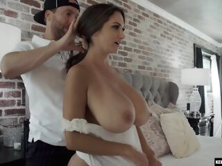 Can't blame this guy for cumming inside her twice ava addams big ass big cock big tits