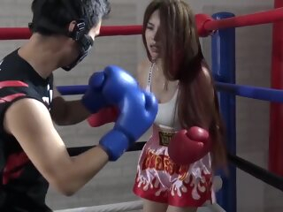 Chinese Brutal Mixed Boxing Ryona asian brunette hd